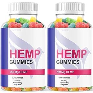 (2 Pack) Eagle Hemp Gummies Quit Smoking for Tinnitus Arthritis Charles Stanley Premium 1500mg (120 Gummies)