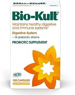 Bio-Kult 14 Strain Advanced Probiotics - Probiotic Supplement, Probiotic Capsules, Probiotics for Adults, 120 count