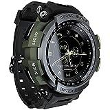 Festnight Sport Smart Watch Professional 5ATM Impermeabile Promemoria Chiamata Orologio Digitale da Uomo SmartWatch per iOS e Android