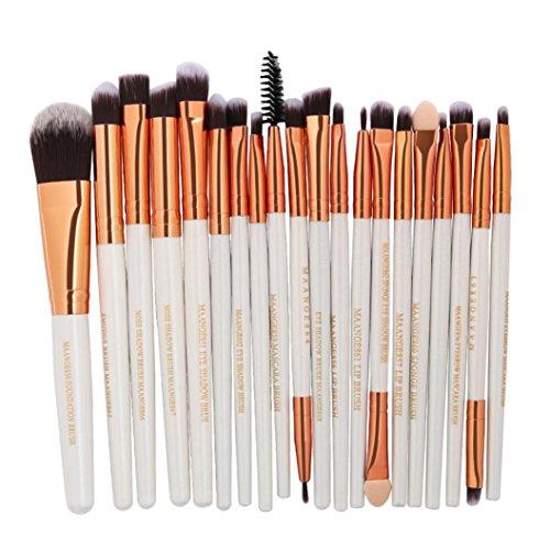 Btruely Make Up Pinsel Set 20PCS Professionelles Schminkpinsel Kosmetikpinsel Eyeliner Kosmetik...