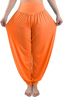 green and orange joggers