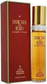 DIAMONDS & RUBIES by Elizabeth Taylor Eau De Toillette SPRAY 50ml