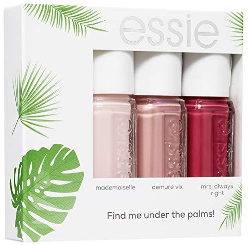 Essie Find Me Under The Palms Nagellack, 3 Mini-Größen, 15 ml