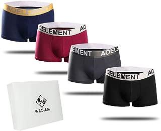 ボクサーパンツ メンズ 4枚セット 通気 吸汗 抗菌防臭加工 ボクサーショーツ (前閉じ)