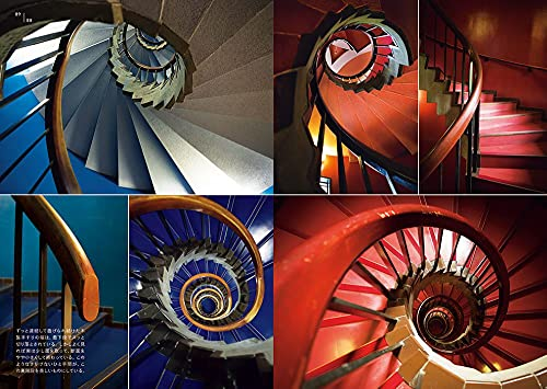階段をのぼるとき、おりるとき、上から見下ろすとき、下から見上げるときと同じ階段でも、景色が違って見えるのというのも面白いポイント。