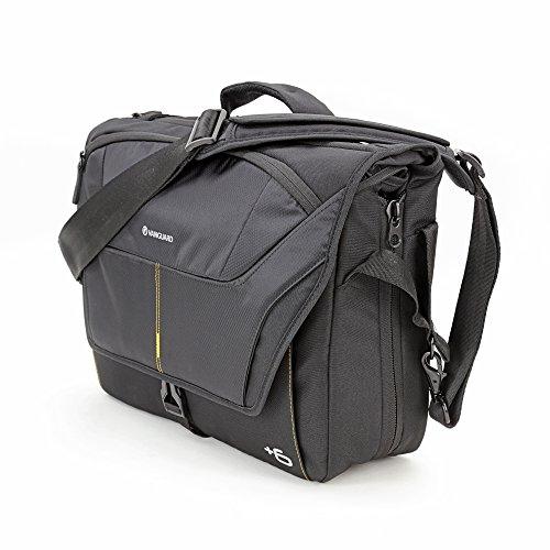 Vanguard Alta Rise 38 - Bolsa Messenger para cámaras, 38 x 11(+6) x 28 cm, Color Negro