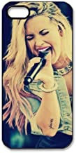 Mystic Zone Pop Singer Demi Lovato Case for iPhone 5 Hard Back Cover Skin Fits Case WSQ1106
