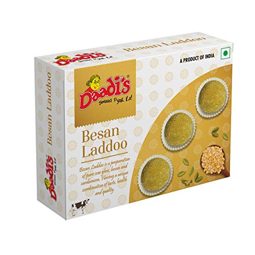 Daadi's Besan Laddoo & Atta Gond Laddoo Pure Ghee 200g (Pack of 2)