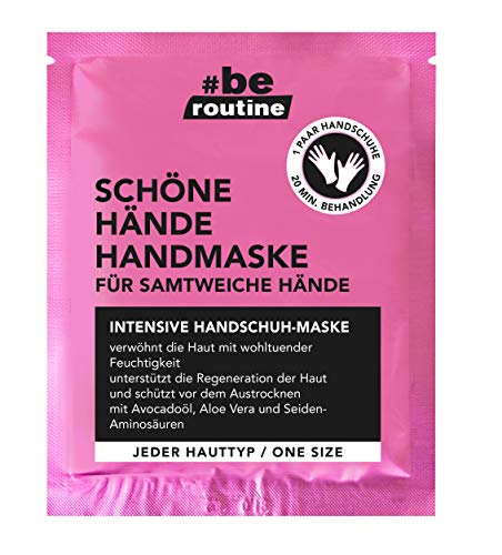 b.e. routine Handmaske für intensive Pflege