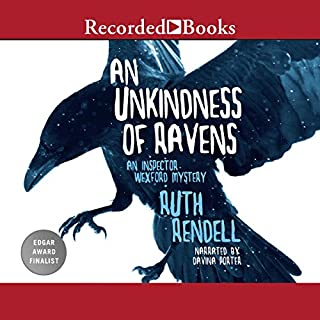 An Unkindness of Ravens audiobook cover art