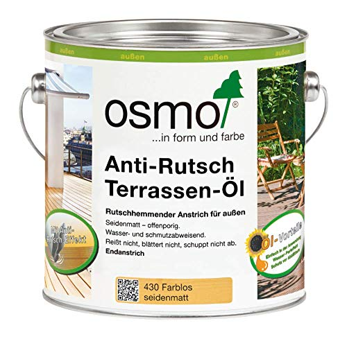 Osmo 430D, Terrassenöl, Anti-Rutsch, transparent, 2,5 l