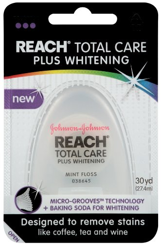 Reach Total Care Plus Whitening Mint Floss, 30 Yard (Pack of 2)