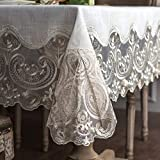ARTABLE Lace Rectangular Tablecloths...