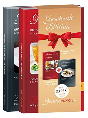 """Gutscheinbuch GenussPUNKTE Geschenkedition: Esslingen, Rems-Murr """"classic"""" + feine Küche 2020 - gültig ab sofort bis 28.02.2021 - TOP 2für1-, Wert- und Rabatt-Gutscheine aus Gastronomie und Freizeit"""