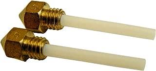 Sendk 2pcs/Set MK7/8 Extruder Nozzle 0.4mm CTC Nozzle Practical Durable Replacement 3D Printer Part