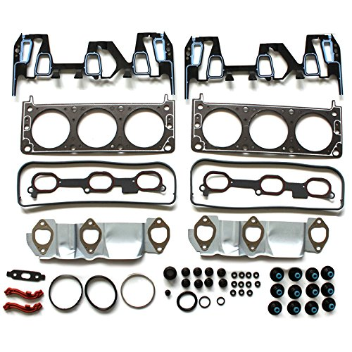 ECCPP Head Gasket Set 05 06 07 08 09 for Chevrolet Equinox for Pontiac Torrent 3.4L Automotive Replacement Engine Head Gaskets Kit