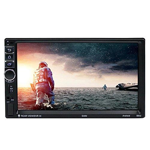 UEB 7 Pollici Touch Screen 2 Din Android Bluetooth Navigatore GPS per Auto 1080P Lettore MP5 + Telecamera