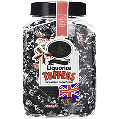 walkers nonsuch liquorice toffee 1.25 kg jar Walkers Nonsuch Liquorice Toffee 1.25 kg Jar 51MdpPtiANL