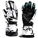 Guantes de esquí, guantes de invierno para nieve, guantes de pantalla táctil, impermeables, guantes para motocicleta