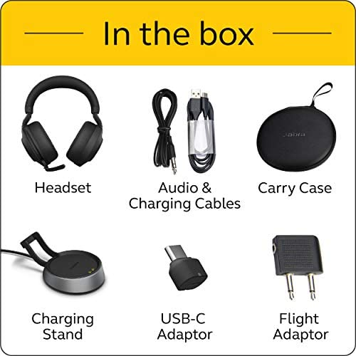 Jabra Evolve2 85 UC, Wireless Headphones