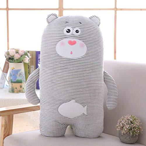 25 Minimalist Plush Penguin Polar Bear Sleeping Pillow Seal Doll Toy Mattress Girl Pillow Boy Gift Birthday-About_65X32Cm_Polar_Bear
