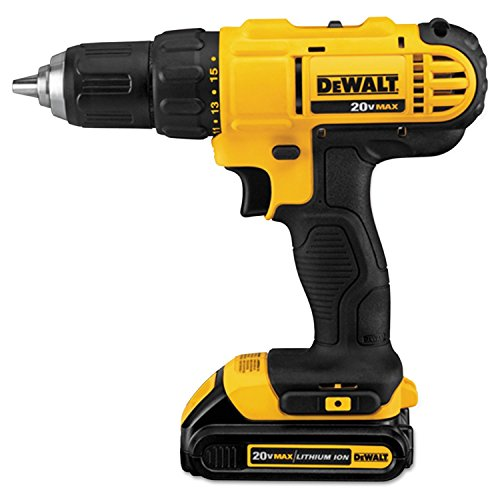 Dewalt DCD771C2 20V MAX Cordless Lithium-Ion 1/2 inch Compact Drill Driver Kit with IMPACT READY FlexTorq Screw Driving Set, 40-Piece