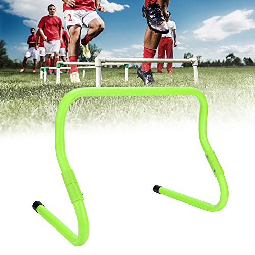Camidy Agility Speed ??Training Hürden 2Er Pack Speed ??Hürden 15 / 30Cm Höhenverstellbare Fußball Fußball Speed ??Hürde Agility Training Ausrüstung