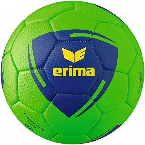 Erima Unisex Jugend Future Grip Kids Handball, Green/blau, 00