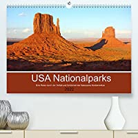 USA Nationalparks - Eine Reise durch die Vielfalt und Schoenheit der Naturparks Nordamerikas (Premium, hochwertiger DIN A2 Wandkalender 2022, Kunstdruck in Hochglanz): Atemberaubende Landschaften (Monatskalender, 14 Seiten )