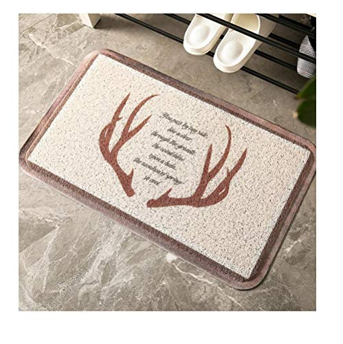 Qianqingkun Prachtige afwerking deur-tot-deur mat deurmat - aarden vloermat home entree mat tapijt