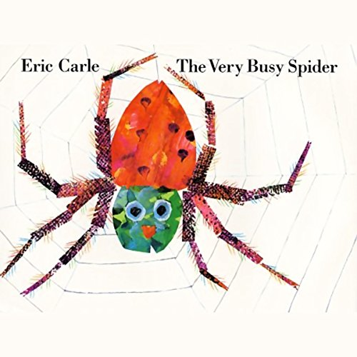 The Very Busy Spider cover art