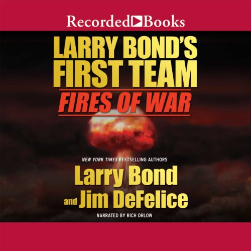 Larry Bond's First Team audiobook cover art