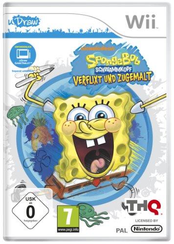 SpongeBob Schwammkopf: Verflixt und zugemalt (uDraw Game Tablet erforderlich) [Importación alemana]