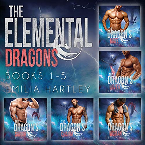 The Elemental Dragons Complete Series cover art