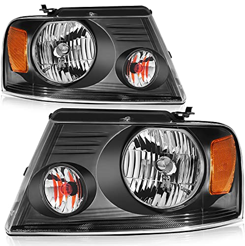 LBRST Headlight Assembly Fit For Ford for F-150 2004-2008 Fit For Lincoln Mark...