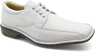 4bc46ea5ffd Sapato Masculino 3026 em Couro Floater Branco Doctor Shoes