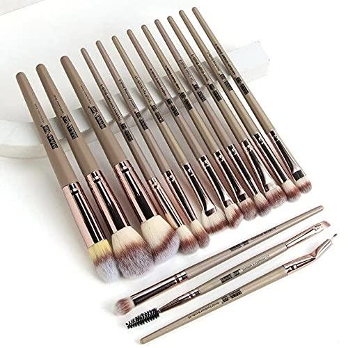 03 15pcs 15pcs Makeup Brushes Set For Cosmetic Foundation Powder Blush Eyeshadow Kabuki Blending Make Up Brush Beauty Tool Maquiagem