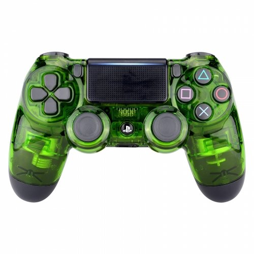 Glossy Transparent Green Playstation 4 PS4 Dual Shock 4 Wireless Custom Controller