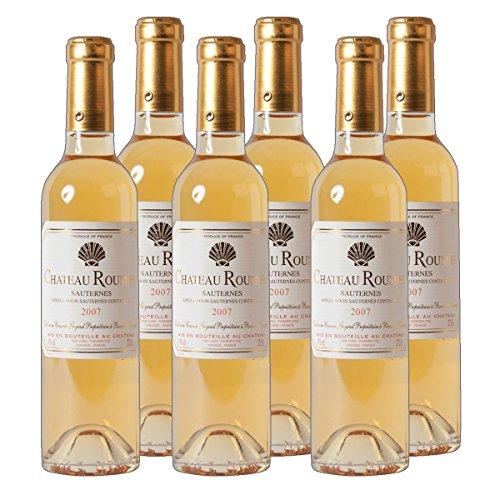Chateau Roumieu Sauternes AC Dessertwein süß Frankreich 2016 lieblich (6x 0.375 l)