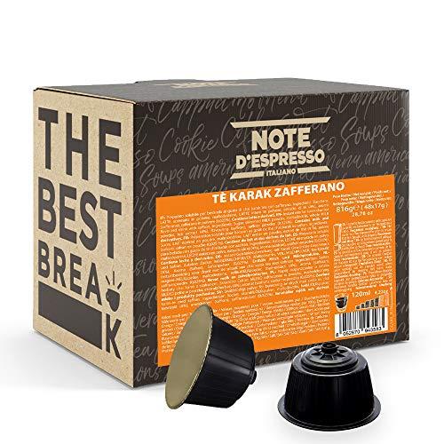 Compatibles con las cafeteras Nescafé Dolce Gusto, añadir entre 120 y 140 ml de agua por cápsula Delicioso sabor a azafrán Hecho en Italia La caja contiene 48 cápsulas Perfectas para el desayuno o para hacer una pausa cuando te apetezca