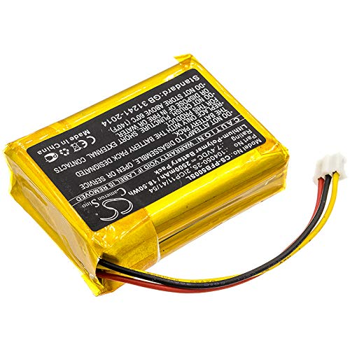 ERSI Replacement Battery for Philips B5/12, Fidelio B5