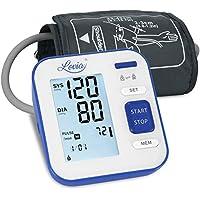 Tensiómetro de Brazo Digital - Lovia Automática Monitor de la Presión Arterial con 2 x120 Memorias de Usuario y Gran Pantalla LCD