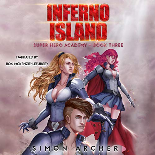 Inferno Island audiobook cover art