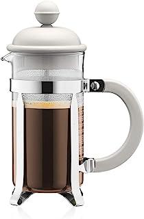BODUM (ボダム) CAFFETTIERA フレンチプレスコーヒーメーカー 350ml オフホワイト 1913-913