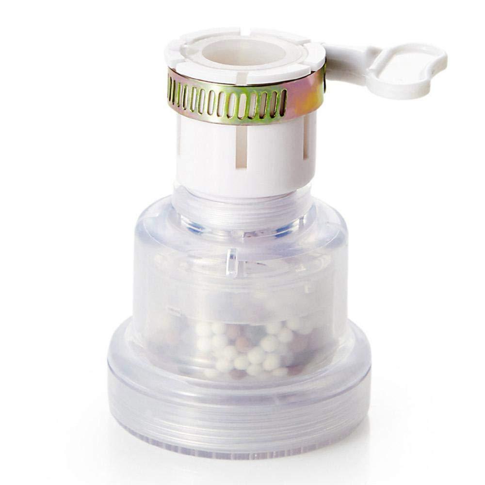 Volwco Pur Filtro de grifo de cocina,creativo filtro de agua para grifo de casa,a prueba salpicaduras, purificador ...