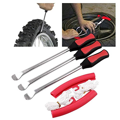 outingStarcase 3 PCS Neumático Neumático Kits de Herramientas de Hierro Cuchara Palanca Motocicleta de la Bici Profesional Kit de Cambio Duradero