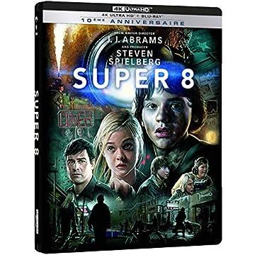 Super 8-Combo UHD [4K Ultra HD + Blu-Ray-Édition boîtier SteelBook 10ème Anniversaire]