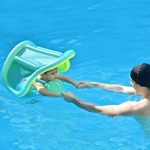 NDYD Piscina Inflable La Nueva Piscina con un toldo extraíble Centro de Actividad Flotante para niños 6-36 Meses Pensión Diversión Agua (Color: L) DSB (Color : L)