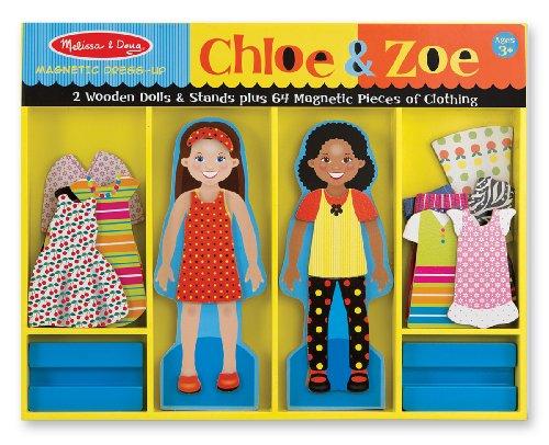 Chloe & Zoe - Magnetic Dress Up