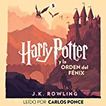 Harry Potter y la Orden del Fénix (Harry Potter 5) audiobook cover art